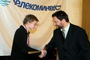 2007  год Смоленский награждение